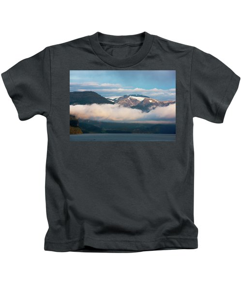 Norway Fjord Innvikfjorden Kids T-Shirt