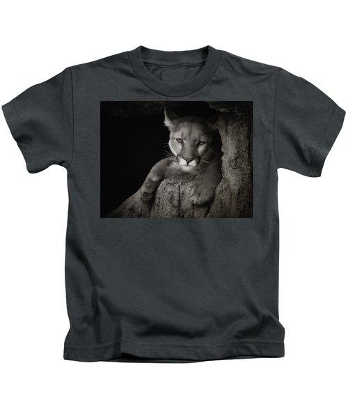 Not A Happy Cat Kids T-Shirt