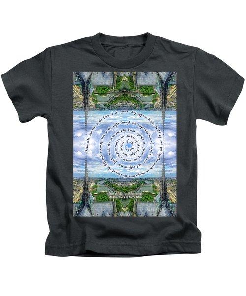 Notre-dame Cathedral Spire Paris Victor Hugo Novel Kids T-Shirt