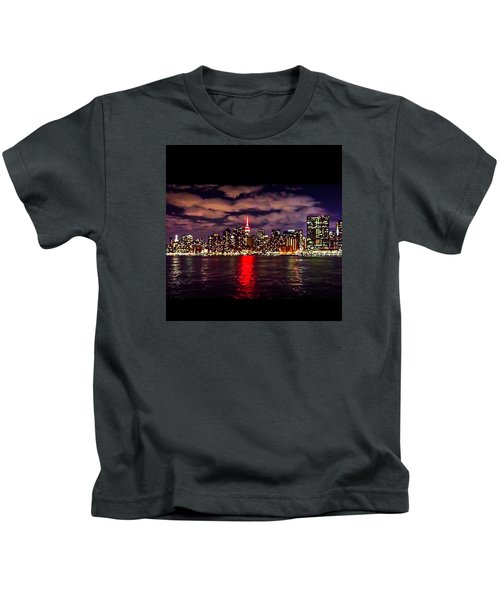 Nyc Skyline Kids T-Shirt