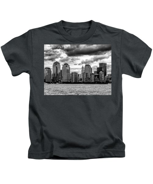 Nyc Skyline Kids T-Shirt