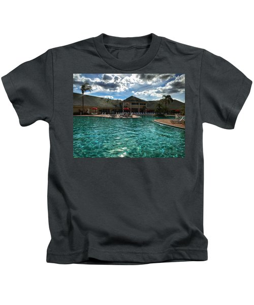 Kids T-Shirt featuring the photograph Oasis by Chris Montcalmo