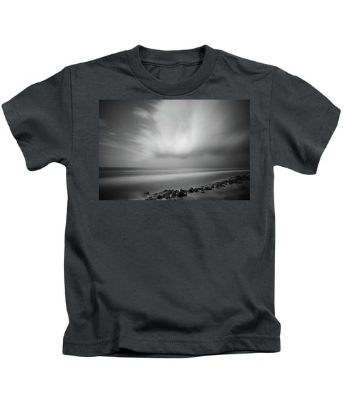 Ocean And Clouds Kids T-Shirt