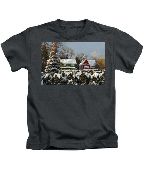 October Snow Kids T-Shirt