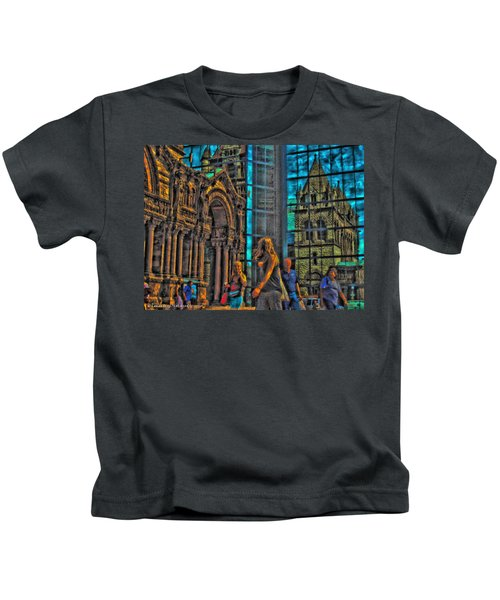 Of Light And Mirrors Kids T-Shirt