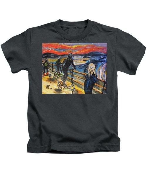 Oh No,elliptigo Kids T-Shirt