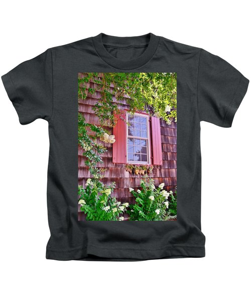 Old Bethel Church Window Kids T-Shirt