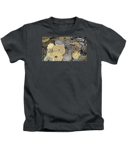 Old Chinese Coins And Money Kids T-Shirt