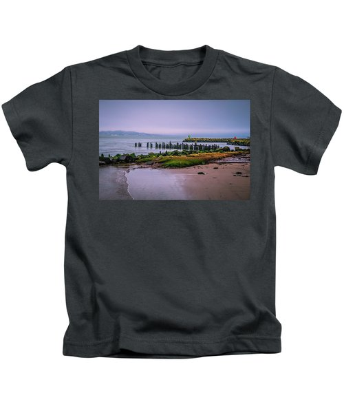 Old Columbia River Docks Kids T-Shirt