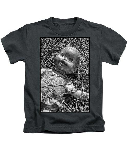 Old Dolls In Grass Kids T-Shirt
