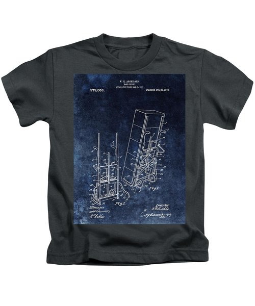 Old Hand Truck Patent Kids T-Shirt