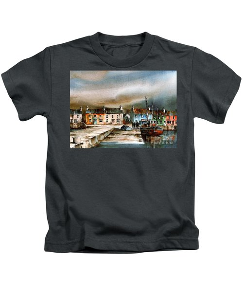 Old Harbour Dingle, Kerry Kids T-Shirt