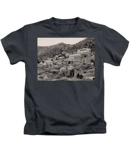 Old Jerome Monochrome Kids T-Shirt