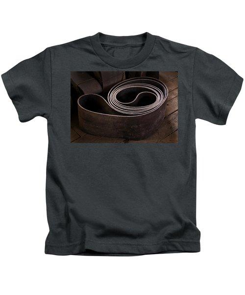 Old Machine Belt Kids T-Shirt