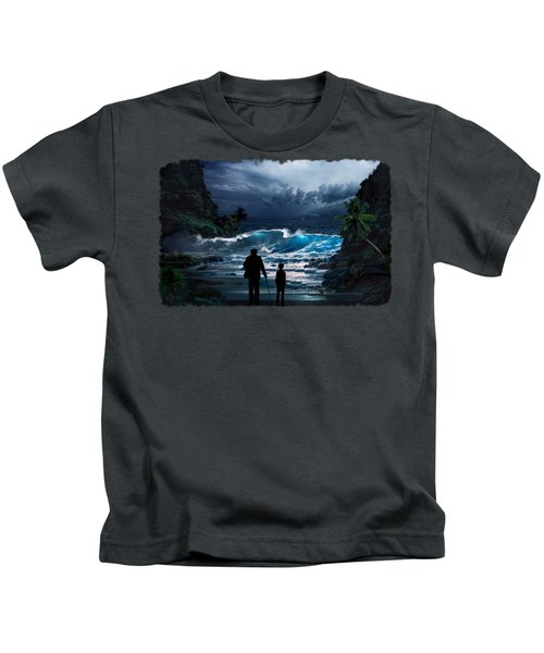 Old Man And The Sea Kids T-Shirt