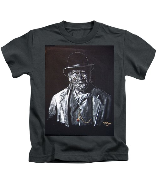 Old Maori Tane Kids T-Shirt