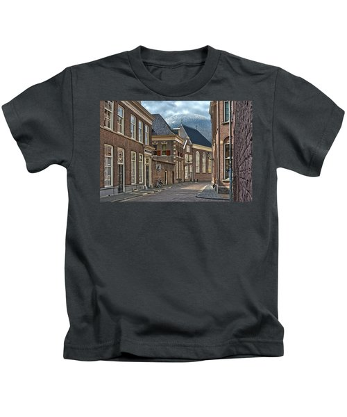Old Meets New In Zwolle Kids T-Shirt