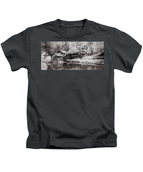 Old Mill On The Mountain Kids T-Shirt