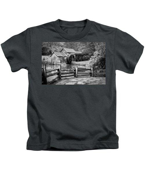 Old Mountain Morning Kids T-Shirt