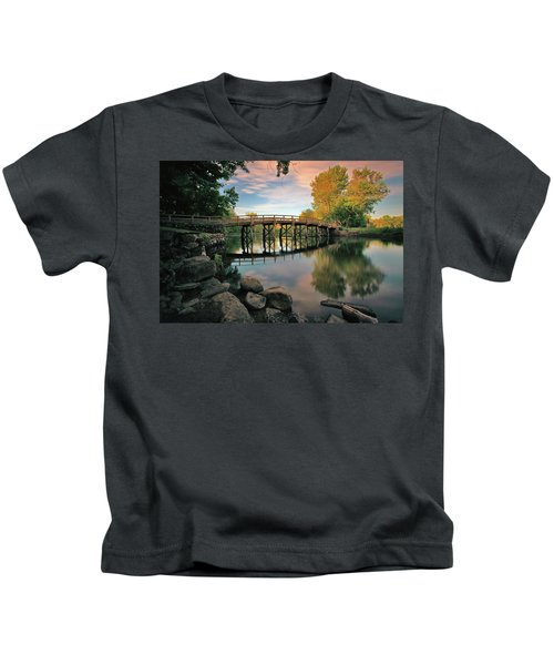 Old North Bridge Kids T-Shirt
