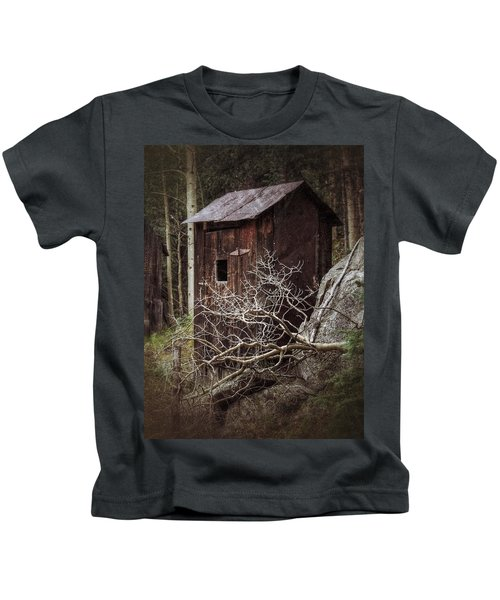 Old Outhouse - St. Elmo Kids T-Shirt