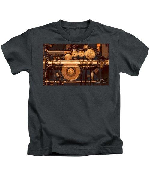 Old Printing Press Kids T-Shirt