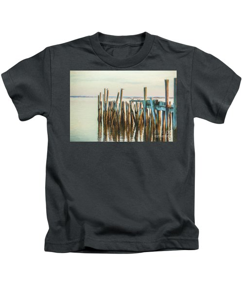 Old Provincetown Wharf Kids T-Shirt