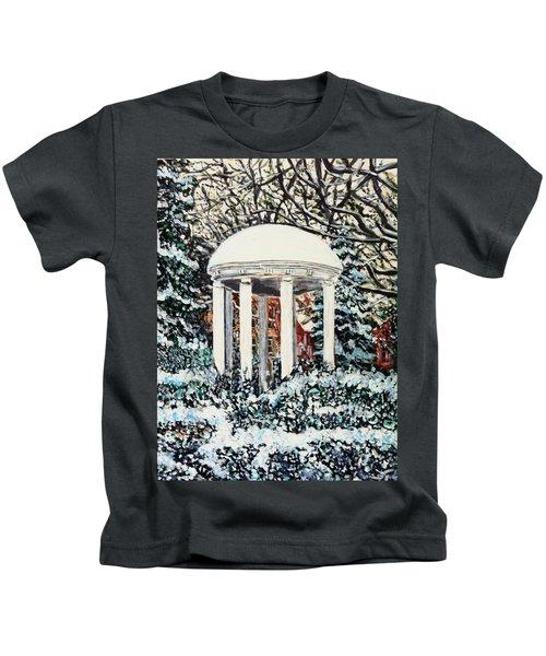 Old Well Winter Kids T-Shirt
