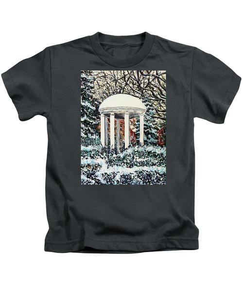 Old Well Winter Kids T-Shirt