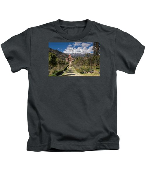 Old Yungay Campo Santo Kids T-Shirt