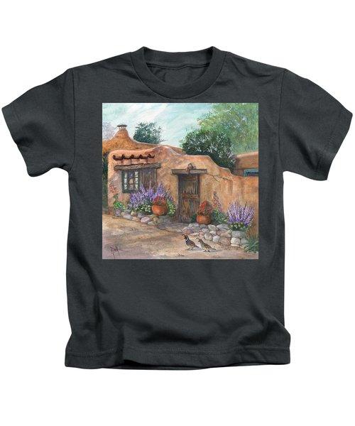 Old Adobe Cottage Kids T-Shirt