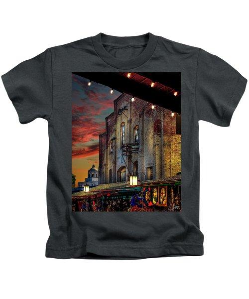 Olvera Street Market Kids T-Shirt