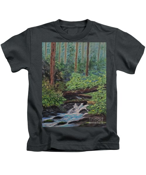 Olympic National Park Kids T-Shirt