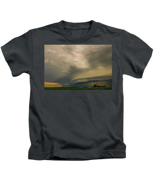 Ominous Nebraska Outflow 007 Kids T-Shirt