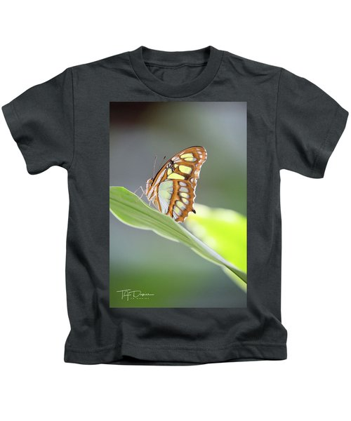 On A Leaf Kids T-Shirt