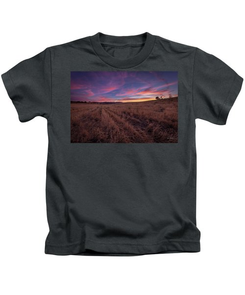 On An  Evening In July Kids T-Shirt