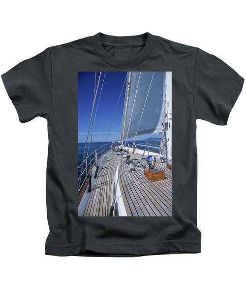 On Deck Off Mexico Kids T-Shirt