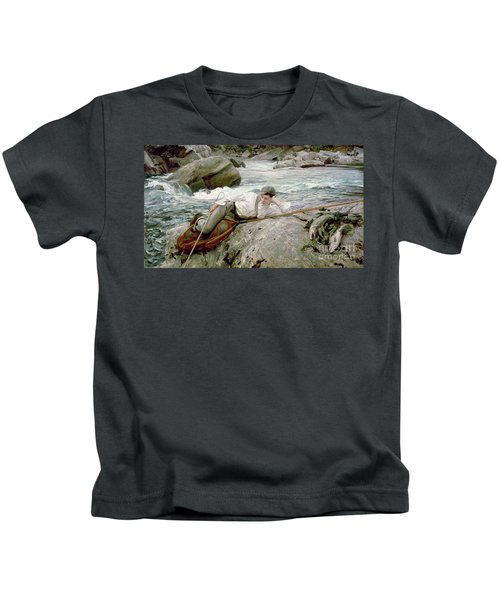 On His Holidays Kids T-Shirt