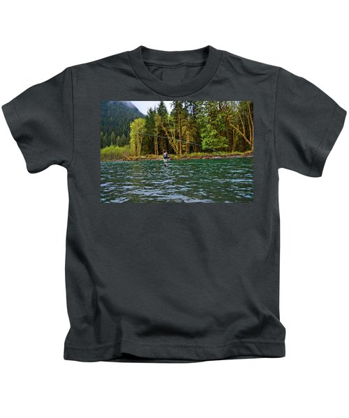 On The River Kids T-Shirt