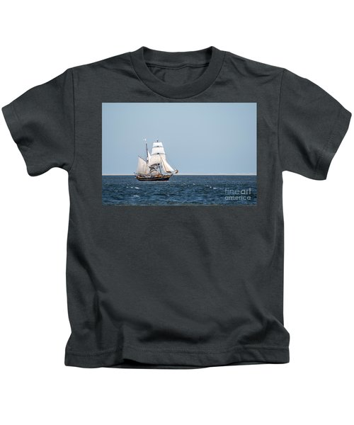 on the way to Texel Kids T-Shirt