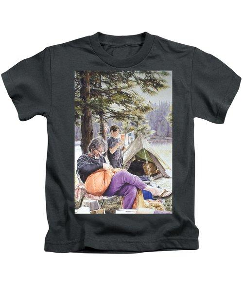 On Tulequoia Shore Kids T-Shirt