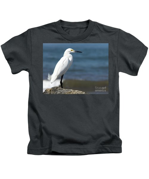 One Classy Chic Wildlife Art By Kaylyn Franks Kids T-Shirt