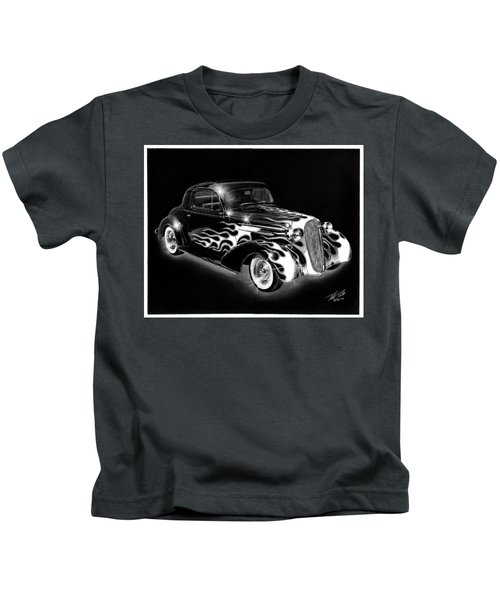 One Hot 1936 Chevrolet Coupe Kids T-Shirt