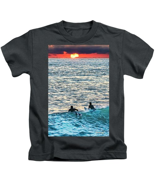 One With The Sun Kids T-Shirt