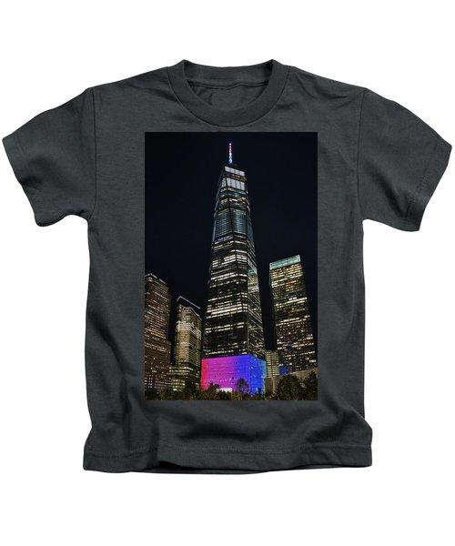 One World Trade Center Kids T-Shirt