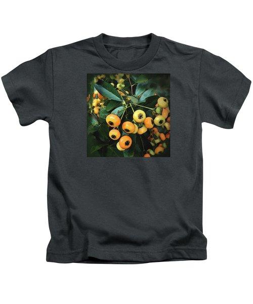 Orange Glow Kids T-Shirt