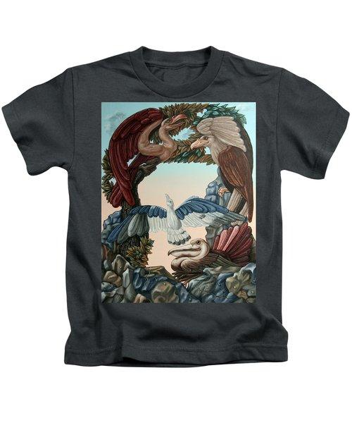 Ornithological Symphony By Ludwig Van Beethove Kids T-Shirt