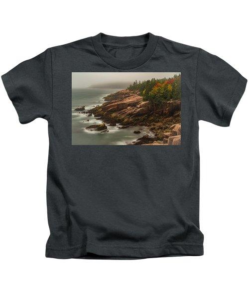 Otter Cliffs Kids T-Shirt