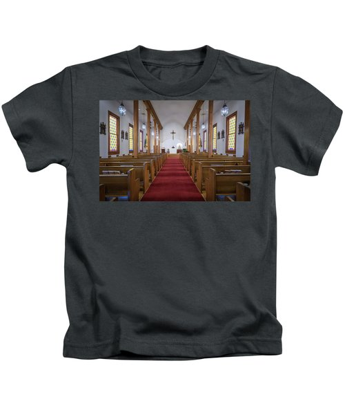 Our Lady Of Mount Carmel Kids T-Shirt
