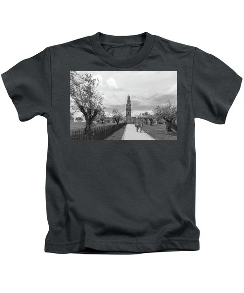 Out For A Walk Kids T-Shirt